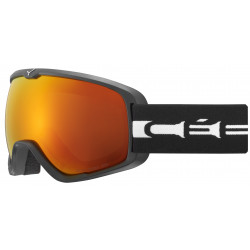 Маска горнолыжная CEBE Artic L Matt Black White - Orange Flash Fire Cat.2