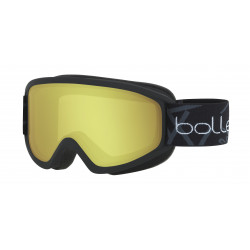 Маска горнолыжная BOLLE 20 Freeze Matte Black - Lemon Cat.1