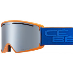 Маска горнолыжная CEBE Core L Matt Orange Blue - Brown Flash Mirror Cat.3